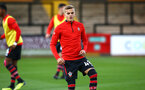 CAMBRIDGE, ENGLAND - OCTOBER 09: Kornelius Hansen ahead of the U21s Checkatade Trophy between Cambridge United and Southampton FC pictured at Abbey Stadium on October 9, 2018 in Cambridge, England. (Photo by James Bridle - Southampton FC/Southampton FC via Getty Images)