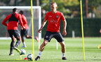 SOUTHAMPTON, ENGLAND - OCTOBER 18: James Ward-Prowse during a Southampton FC training session at the Staplewood Campus on October 18, 2018 in Southampton, England. (Photo by Matt Watson/Southampton FC via Getty Images)