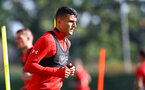 SOUTHAMPTON, ENGLAND - OCTOBER 18: Mohamed Elyounoussi during a Southampton FC training session at the Staplewood Campus on October 18, 2018 in Southampton, England. (Photo by Matt Watson/Southampton FC via Getty Images)