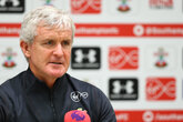 Press conference (part one): Hughes previews Newcastle clash