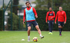 SOUTHAMPTON, ENGLAND - OCTOBER 25: Manolo Gabbiadini during a Southampton FC training session at the Staplewood Campus on October 25, 2018 in Southampton, United Kingdom. (Photo by Matt Watson/Southampton FC via Getty Images)