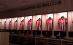SOUTHAMPTON, ENGLAND - OCTOBER 27: inside the dressing room of Southampton ahead of the Premier League match between Southampton FC and Newcastle United at St Mary's Stadium on October 27, 2018 in Southampton, United Kingdom. (Photo by Matt Watson/Southampton FC via Getty Images)
