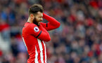 SOUTHAMPTON, ENGLAND - OCTOBER 27: Charlie Austin of Southampton during the Premier League match between Southampton FC and Newcastle United at St Mary's Stadium on October 27, 2018 in Southampton, United Kingdom. (Photo by Matt Watson/Southampton FC via Getty Images)