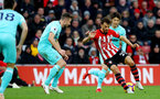 SOUTHAMPTON, ENGLAND - OCTOBER 27: Manolo Gabbiadini of Southampton during the Premier League match between Southampton FC and Newcastle United at St Mary's Stadium on October 27, 2018 in Southampton, United Kingdom. (Photo by Matt Watson/Southampton FC via Getty Images)