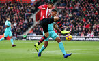 SOUTHAMPTON, ENGLAND - OCTOBER 27: Mohamed Elyounoussi of Southampton during the Premier League match between Southampton FC and Newcastle United at St Mary's Stadium on October 27, 2018 in Southampton, United Kingdom. (Photo by Chris Moorhouse/Southampton FC via Getty Images)