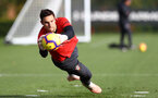 SOUTHAMPTON, ENGLAND - OCTOBER 30: Alex McCarthy during a Southampton FC training session at the Staplewood Campus on October 30, 2018 in Southampton, England. (Photo by Matt Watson/Southampton FC via Getty Images)