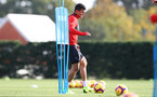 SOUTHAMPTON, ENGLAND - OCTOBER 30: Mohamed Elyounoussi during a Southampton FC training session at the Staplewood Campus on October 30, 2018 in Southampton, England. (Photo by Matt Watson/Southampton FC via Getty Images)