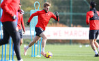 SOUTHAMPTON, ENGLAND - OCTOBER 30: Stuart Armstrong during a Southampton FC training session at the Staplewood Campus on October 30, 2018 in Southampton, England. (Photo by Matt Watson/Southampton FC via Getty Images)