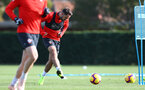 SOUTHAMPTON, ENGLAND - OCTOBER 30: Danny Ings during a Southampton FC training session at the Staplewood Campus on October 30, 2018 in Southampton, England. (Photo by Matt Watson/Southampton FC via Getty Images)