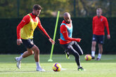 Gallery: Saints prepare for Man City
