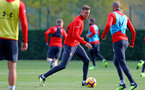 SOUTHAMPTON, ENGLAND - NOVEMBER 02: Jan Bednarek during a Southampton FC training session at the Staplewood Campus on November 2, 2018 in Southampton, England. (Photo by Matt Watson/Southampton FC via Getty Images)