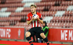 SOUTHAMPTON, ENGLAND - NOVEMBER 02: Jake Vokins during the U23s Premier League 2 match between Southampton FC and Westbrom Albion FC, 2018 in Southampton, England. (Photo by James Bridle - Southampton FC/Southampton FC via Getty Images)