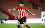 SOUTHAMPTON, ENGLAND - NOVEMBER 02: Tom O'Connor (middle) during the U23s Premier League 2 match between Southampton FC and Westbrom Albion FC, 2018 in Southampton, England. (Photo by James Bridle - Southampton FC/Southampton FC via Getty Images)