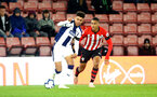 SOUTHAMPTON, ENGLAND - NOVEMBER 02: Jan Valery (right) during the U23s Premier League 2 match between Southampton FC and Westbrom Albion FC, 2018 in Southampton, England. (Photo by James Bridle - Southampton FC/Southampton FC via Getty Images)