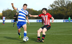 READING, ENGLAND - NOVEMBER 03: Will Ferry (right) during the under 18s Premier league match between Reading FC and Southampton FC, 2018 in Reading, England. (Photo by James Bridle - Southampton FC/Southampton FC via Getty Images)