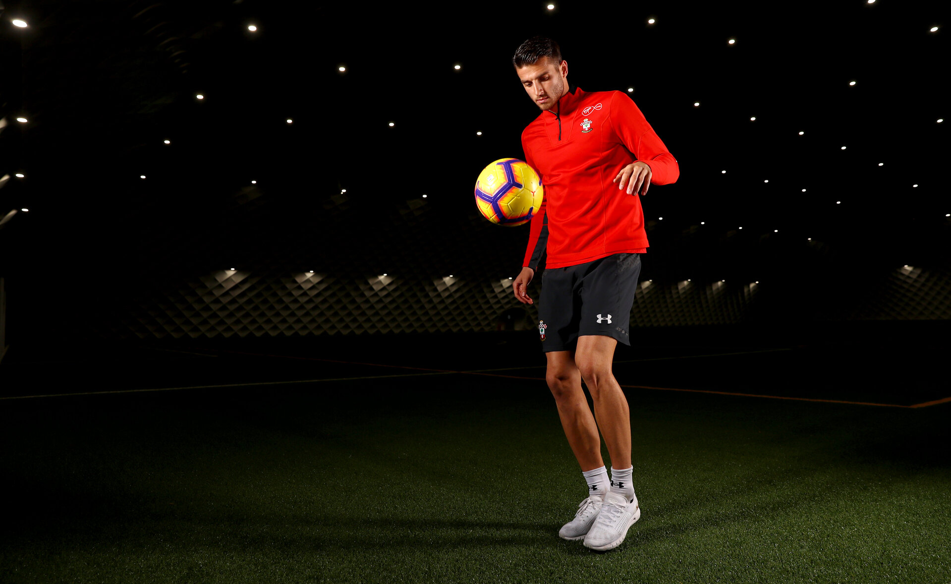 Southampton FC's Wesley Hoedt pictured at the Staplewood Campus, for the Saints match day magazine, 6th November 2018