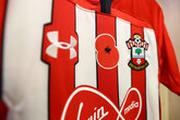 Bidding opens on Saints' poppy shirts