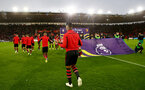 SOUTHAMPTON, ENGLAND - NOVEMBER 10: Mario Lemina heads on to the pitch  during the Premier League match between Southampton FC and Watford FC at St Mary's Stadium on November 10, 2018 in Southampton, United Kingdom. (Photo by Matt Watson/Southampton FC via Getty Images)