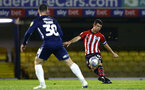 SOUTHEND, ENGLAND - NOVEMBER 14: Tom OÕConnor (right) of Southampton FC during the Checkatrade Trophy match between Southend United and Southampton FC U21s pictured at Roots Hall on November 14, 2018 in Southend, England. (Photo by James Bridle - Southampton FC/Southampton FC via Getty Images) SOUTHEND, ENGLAND - NOVEMBER 14: Tom O'Connor (right) of Southampton FC during the Checkatrade Trophy match between Southend United and Southampton FC U21s pictured at Roots Hall on November 14, 2018 in Southend, England. (Photo by James Bridle - Southampton FC/Southampton FC via Getty Images)