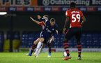 SOUTHEND, ENGLAND - NOVEMBER 14: Callum Slattery during the Checkatrade Trophy match between Southend United and Southampton FC U21s pictured at Roots Hall on November 14, 2018 in Southend, England. (Photo by James Bridle - Southampton FC/Southampton FC via Getty Images)