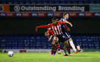 SOUTHEND, ENGLAND - NOVEMBER 14: Yan Valery (middle) during the Checkatrade Trophy match between Southend United and Southampton FC U21s pictured at Roots Hall on November 14, 2018 in Southend, England. (Photo by James Bridle - Southampton FC/Southampton FC via Getty Images)