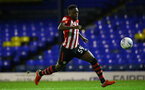 SOUTHEND, ENGLAND - NOVEMBER 14: Jonathan Afolabi during the Checkatrade Trophy match between Southend United and Southampton FC U21s pictured at Roots Hall on November 14, 2018 in Southend, England. (Photo by James Bridle - Southampton FC/Southampton FC via Getty Images)