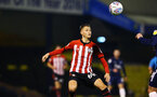 SOUTHEND, ENGLAND - NOVEMBER 14: Will Smallbone during the Checkatrade Trophy match between Southend United and Southampton FC U21s pictured at Roots Hall on November 14, 2018 in Southend, England. (Photo by James Bridle - Southampton FC/Southampton FC via Getty Images)