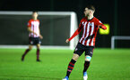 NORWICH, ENGLAND - NOVEMBER 23: Callum Slattery (right) during the U23s PL2 match between Norwich City and Southampton FC pictured at Colney Training Ground on November 23, 2018 in Norwich, England. (Photo by James Bridle - Southampton FC/Southampton FC via Getty Images)