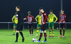 NORWICH, ENGLAND - NOVEMBER 23: Callum Slattery is awareded a penalty during the U23s PL2 match between Norwich City and Southampton FC pictured at Colney Training Ground on November 23, 2018 in Norwich, England. (Photo by James Bridle - Southampton FC/Southampton FC via Getty Images)