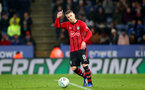 LEICESTER, ENGLAND - NOVEMBER 27: Steven Davis of Southampton during the Carabao Cup Fourth Round match between Leicester City and Southampton at The King Power Stadium on November 27th, 2018 in Leicester, England. (Photo by Matt Watson/Southampton FC via Getty Images)