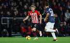 SOUTHAMPTON, ENGLAND - DECEMBER 01: Stuart Armstrong of Southampton during the Premier League match between Southampton FC and Manchester United at St Mary's Stadium on December 1, 2018 in Southampton, United Kingdom. (Photo by Matt Watson/Southampton FC via Getty Images)