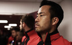 SOUTHAMPTON, ENGLAND - DECEMBER 01: Maya Yoshida of Southampton in the tunnel during the Premier League match between Southampton FC and Manchester United at St Mary's Stadium on December 1, 2018 in Southampton, United Kingdom. (Photo by Matt Watson/Southampton FC via Getty Images)