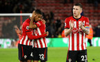 SOUTHAMPTON, ENGLAND - DECEMBER 01: Pierre-Emile Hojbjerg of Southampton during the Premier League match between Southampton FC and Manchester United at St Mary's Stadium on December 1, 2018 in Southampton, United Kingdom. (Photo by Chris Moorhouse/Southampton FC via Getty Images)