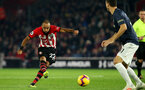 SOUTHAMPTON, ENGLAND - DECEMBER 01: Nathan Redmond of Southampton during the Premier League match between Southampton FC and Manchester United at St Mary's Stadium on December 1, 2018 in Southampton, United Kingdom. (Photo by Chris Moorhouse/Southampton FC via Getty Images)