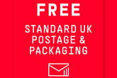 Free standard UK postage and packaging from Saints Stores