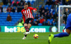 CARDIFF, WALES - DECEMBER 08: Jannik Vestergaard of Southampton during the Premier League match between Cardiff City and Southampton FC at Cardiff City Stadium on December 8, 2018 in Cardiff, United Kingdom. (Photo by Matt Watson/Southampton FC via Getty Images)