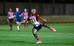 SOUTHAMPTON, ENGLAND - DECEMBER 11: Tyreke Johnson during the U23s Cup match between Southampton FC and West Ham United pictured at Staplewood Training Ground on December 11, 2018 in Southampton England. (Photo by James Bridle - Southampton FC/Southampton FC via Getty Images)