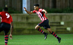 SOUTHAMPTON, ENGLAND - DECEMBER 11: Marcus Barnes (middle) during the U23s Cup match between Southampton FC and West Ham United pictured at Staplewood Training Ground on December 11, 2018 in Southampton England. (Photo by James Bridle - Southampton FC/Southampton FC via Getty Images)
