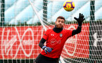 SOUTHAMPTON, ENGLAND - DECEMBER 12: Angu Gunn during a Southampton FC training session at the Staplewood Campus on December 12, 2018 in Southampton, England. (Photo by Matt Watson/Southampton FC via Getty Images)
