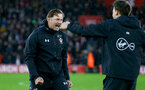 SOUTHAMPTON, ENGLAND - DECEMBER 16: Ralph Hasenhüttl of Southampton during the Premier League match between Southampton FC and Arsenal FC at St Mary's Stadium on December 15, 2018 in Southampton, United Kingdom. (Photo by Matt Watson/Southampton FC via Getty Images)