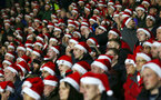 HUDDERSFIELD, ENGLAND - DECEMBER 22:  fans of Southampton during the Premier League match between Huddersfield Town and Southampton FC at John Smith's Stadium on December 22, 2018 in Huddersfield, United Kingdom. (Photo by Matt Watson/Southampton FC via Getty Images)