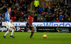 HUDDERSFIELD, ENGLAND - DECEMBER 22:  Michael Obafemi during the Premier League match between Huddersfield Town and Southampton FC at John Smith's Stadium on December 22, 2018 in Huddersfield, United Kingdom. (Photo by Matt Watson/Southampton FC via Getty Images)