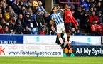 HUDDERSFIELD, ENGLAND - DECEMBER 22:  Yan Valery during the Premier League match between Huddersfield Town and Southampton FC at John Smith's Stadium on December 22, 2018 in Huddersfield, United Kingdom. (Photo by Matt Watson/Southampton FC via Getty Images)