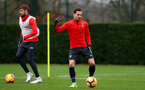 SOUTHAMPTON, ENGLAND - DECEMBER 25: Cedric Soares during a Southampton FC training session at the Staplewood Campus on December 25, 2018 in Southampton, England. (Photo by Matt Watson/Southampton FC via Getty Images)