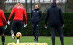 SOUTHAMPTON, ENGLAND - DECEMBER 25: Ralph Hasenhuttl during a Southampton FC training session at the Staplewood Campus on December 25, 2018 in Southampton, England. (Photo by Matt Watson/Southampton FC via Getty Images)