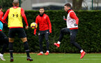SOUTHAMPTON, ENGLAND - DECEMBER 25: Pierre-Emile Hojbjerg during a Southampton FC training session at the Staplewood Campus on December 25, 2018 in Southampton, England. (Photo by Matt Watson/Southampton FC via Getty Images)