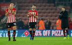 SOUTHAMPTON, ENGLAND - DECEMBER 27:  Shane Long(centre) of Southampton during the Premier League match between Southampton FC and West Ham United at St Mary's Stadium on December 27, 2018 in Southampton, United Kingdom. (Photo by Matt Watson/Southampton FC via Getty Images)