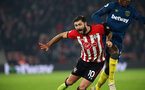 SOUTHAMPTON, ENGLAND - DECEMBER 27: Charlie Austin  during the Premier League match between Southampton FC and West Ham United at St Mary's Stadium on December 26, 2018 in Southampton, United Kingdom. (Photo by Chris Moorhouse/Southampton FC via Getty Images)