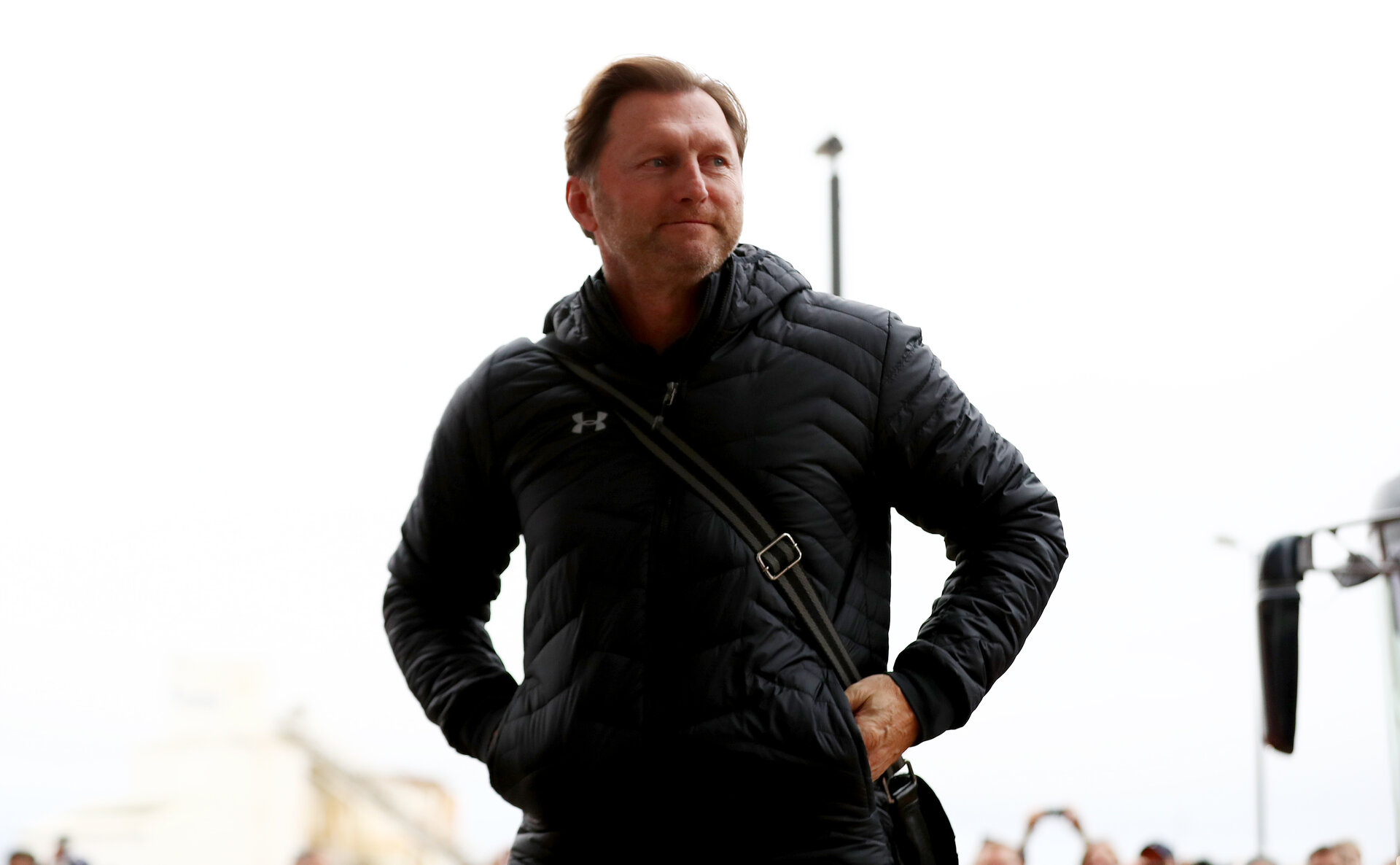 SOUTHAMPTON, ENGLAND - DECEMBER 30: Ralph Hasenhuttl of Southampton ahead of the Premier League match between Southampton FC and Manchester City at St Mary's Stadium on December 30, 2018 in Southampton, United Kingdom. (Photo by Matt Watson/Southampton FC via Getty Images)