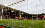 SOUTHAMPTON, ENGLAND - DECEMBER 30:  Pierre-Emile Hojbjerg of Southampton see's his shot beat Ederson and hit the net to make the score 1-1 during the Premier League match between Southampton FC and Manchester City at St Mary's Stadium on December 30, 2018 in Southampton, United Kingdom. (Photo by Matt Watson/Southampton FC via Getty Images)